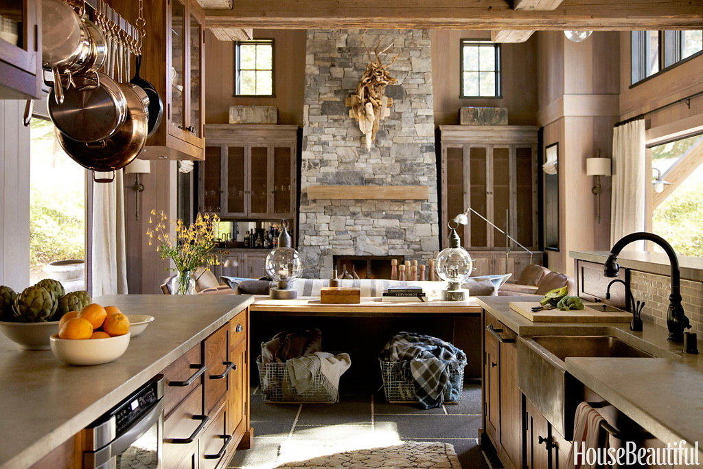 House Beautiful Rustic and Refined 4