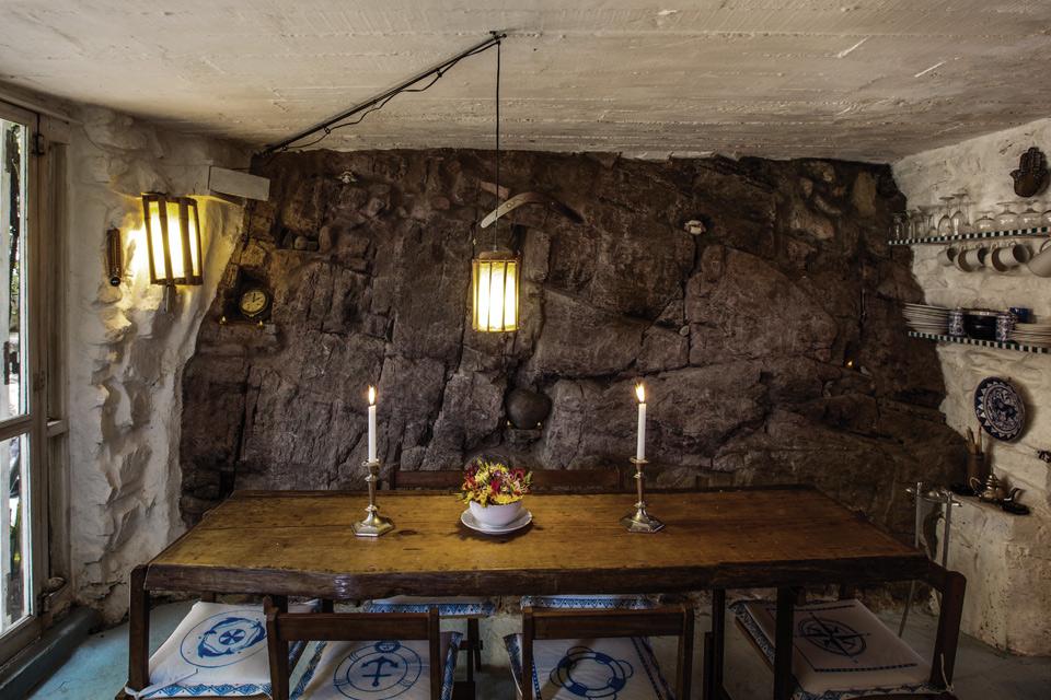 Espacio Living Una casa de piedra inspiradora 4