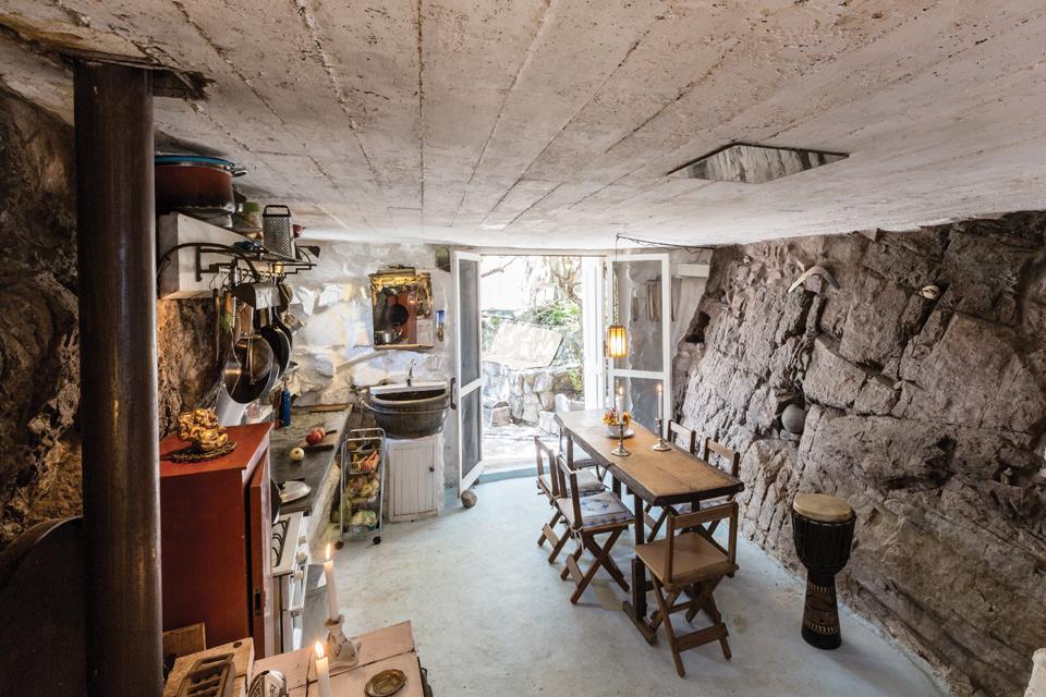 Espacio Living Una casa de piedra inspiradora 5