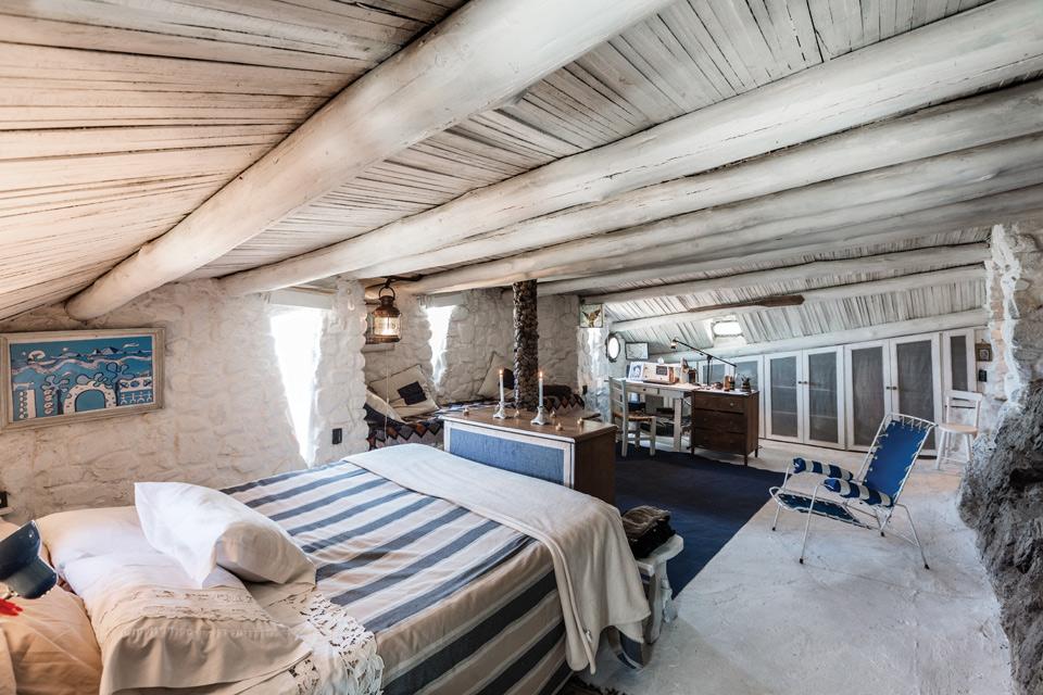 Espacio Living Una casa de piedra inspiradora 6