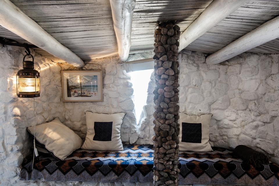 Espacio Living Una casa de piedra inspiradora 8