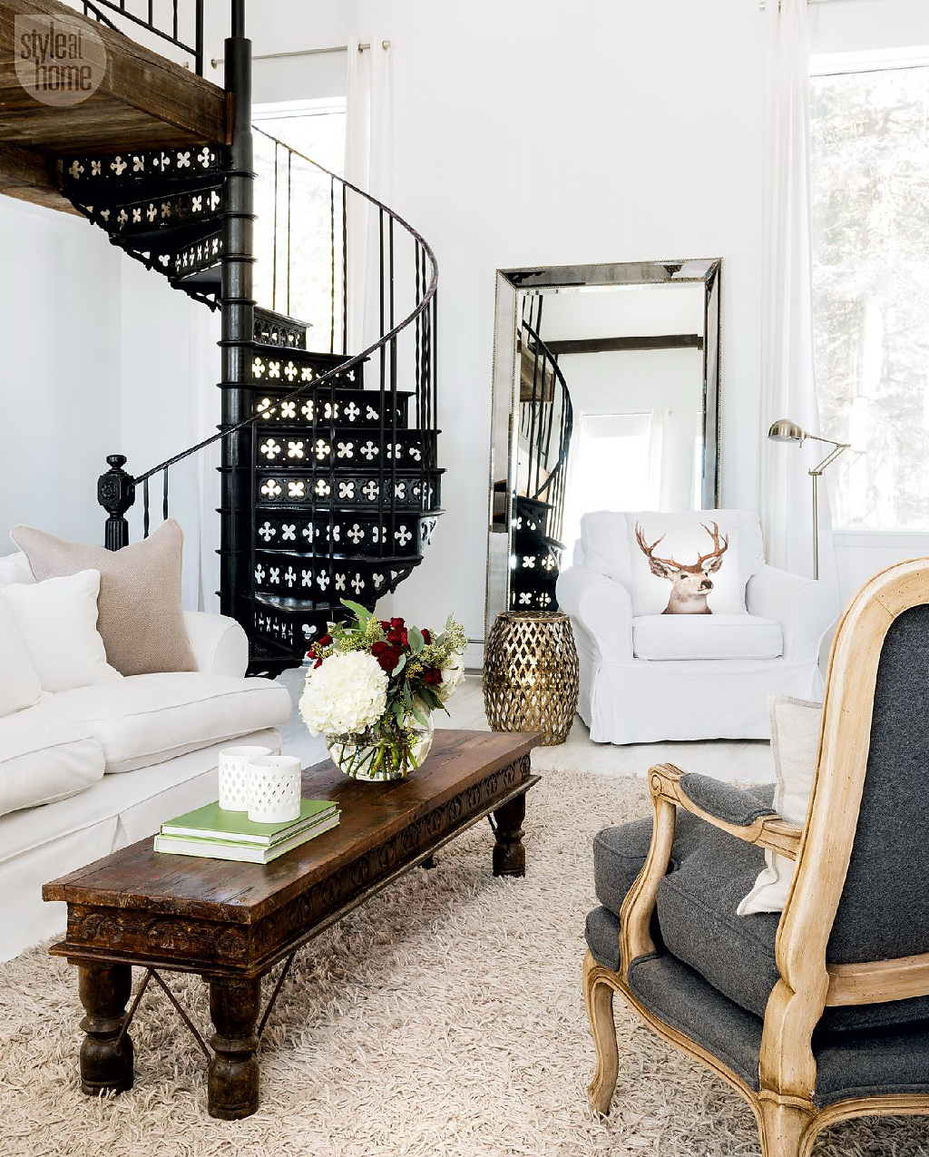 Style At Home Converted heritage schoolhouse 4