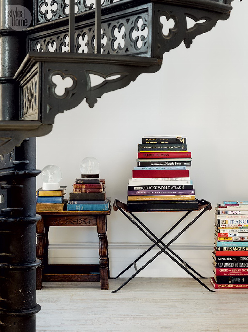 Style At Home Converted heritage schoolhouse 5