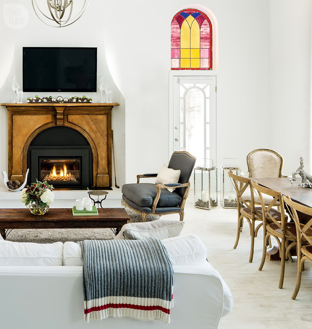 Style At Home Converted heritage schoolhouse 6