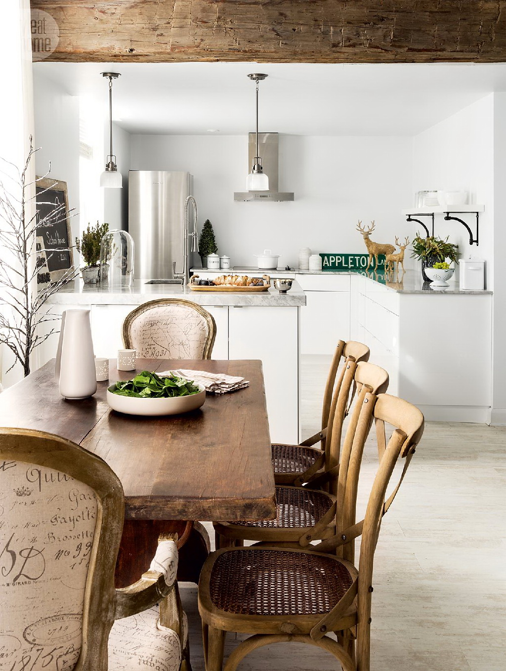 Style At Home Converted heritage schoolhouse 7