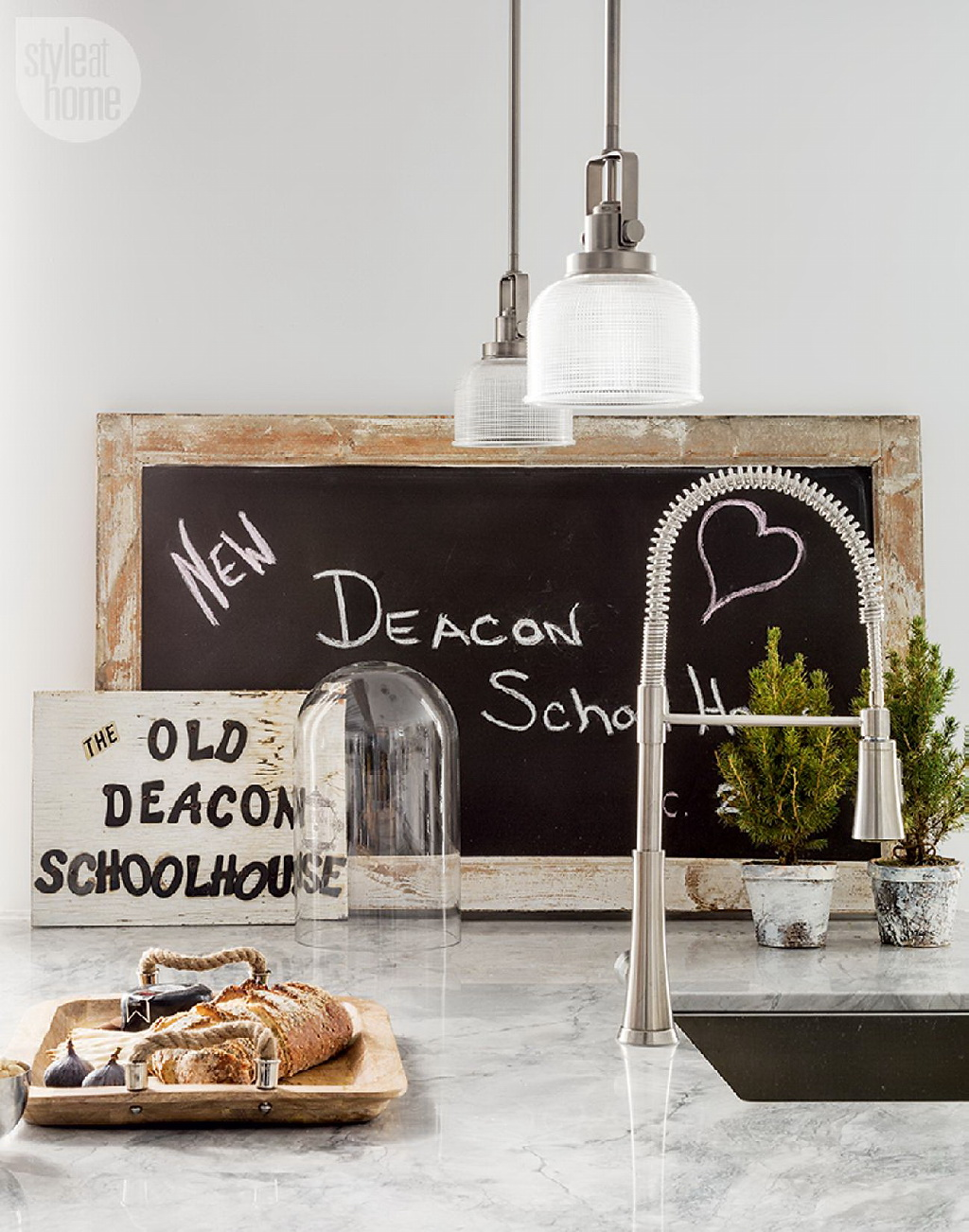 Style At Home Converted heritage schoolhouse 8