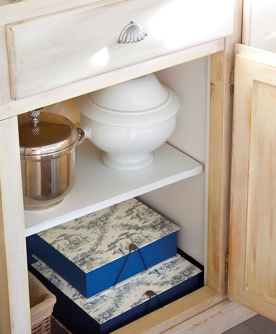 El Mueble Organiza el vajillero todo a mano y bien ordenado 5