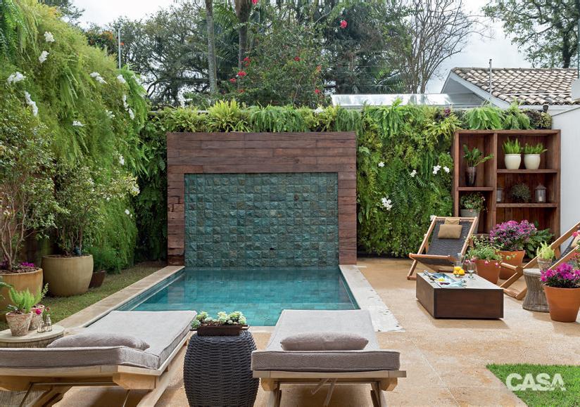 Casa.com.br Jardim com piscina e área de estar super aconchegante 1