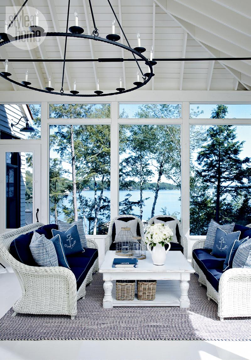 Style At Home Coastal-style cottage 10