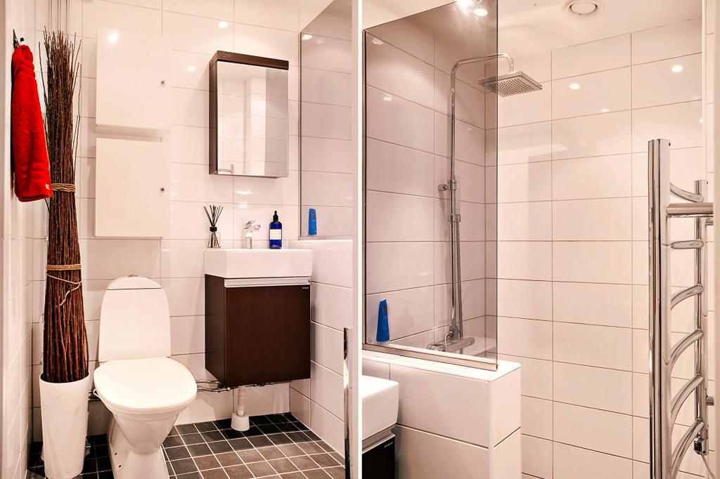 Nagyszerű burkolatok, kis fürdőszobák - Tervek, álmok, otthonok ...
