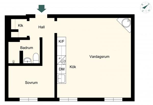 2-room-41-m2-plan