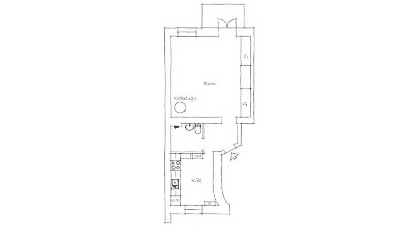 Квартира 40 кв.м. 19