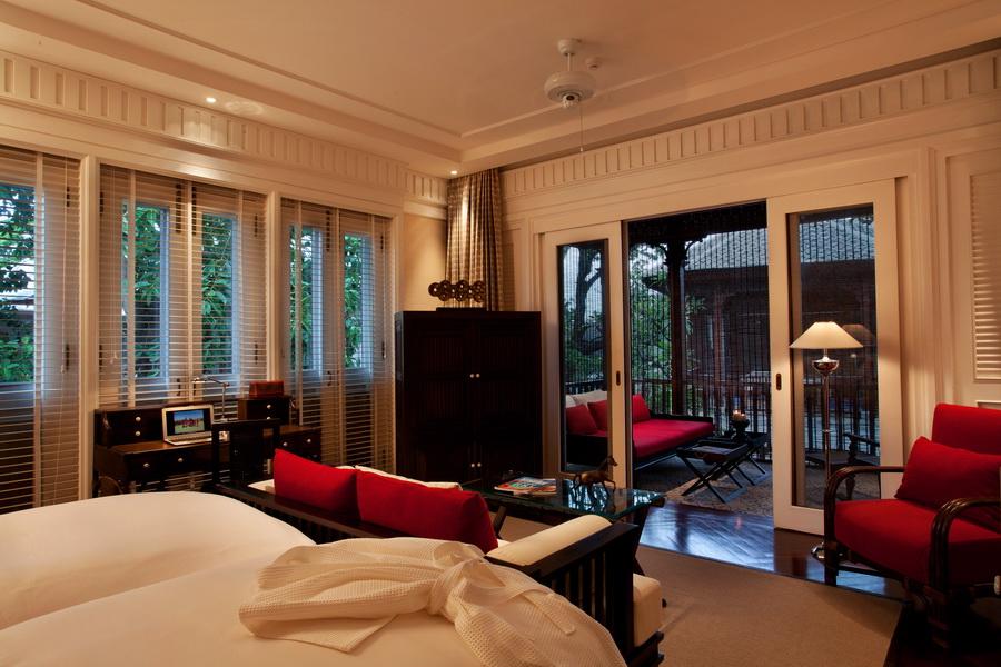 Отель в Тайланде 137 Pillars House 12