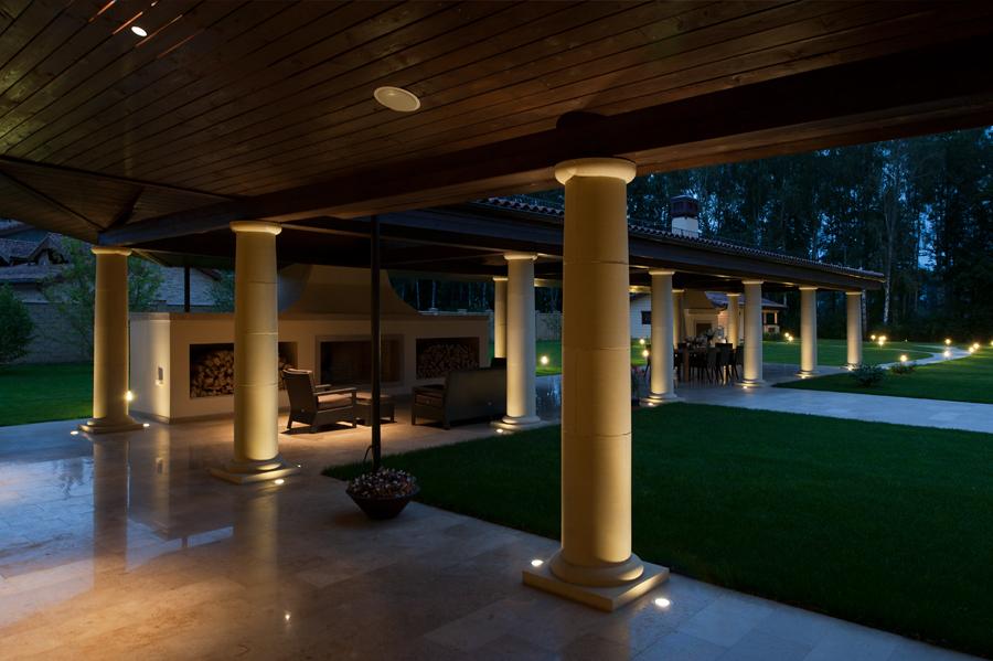 Вилла под Москвой Архитектурная мастерская и дизайн бюро SL Project  18
