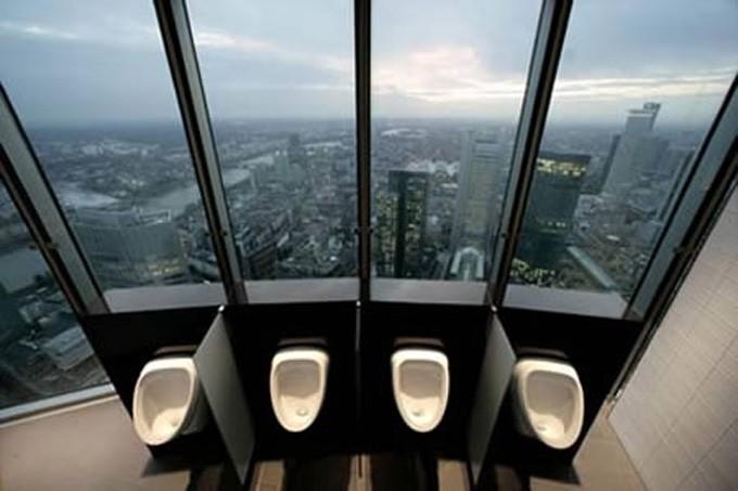 Commerzbank-Headquarters-Urinal