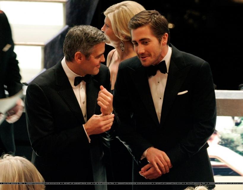 george clooney gay. George Clooney performed the