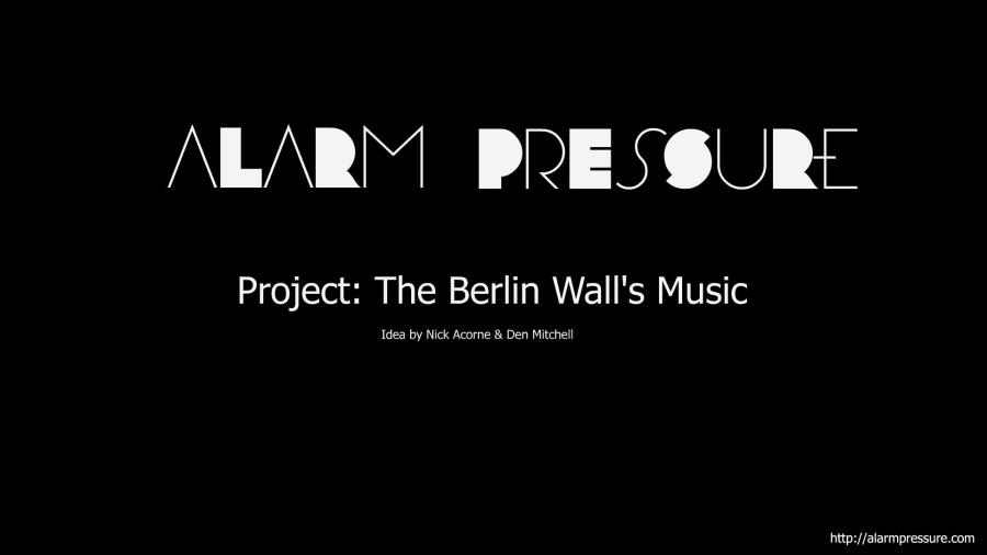 The Berlin Wall's Music