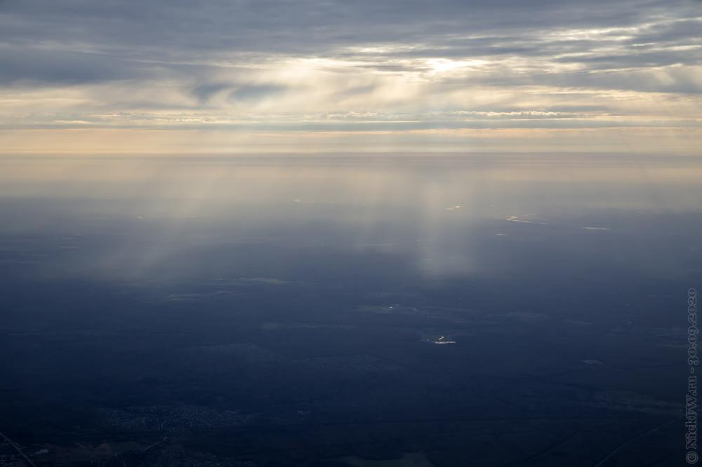 6. Осеннее небо над Москвой © NickFW.ru - 30.09.2020г.