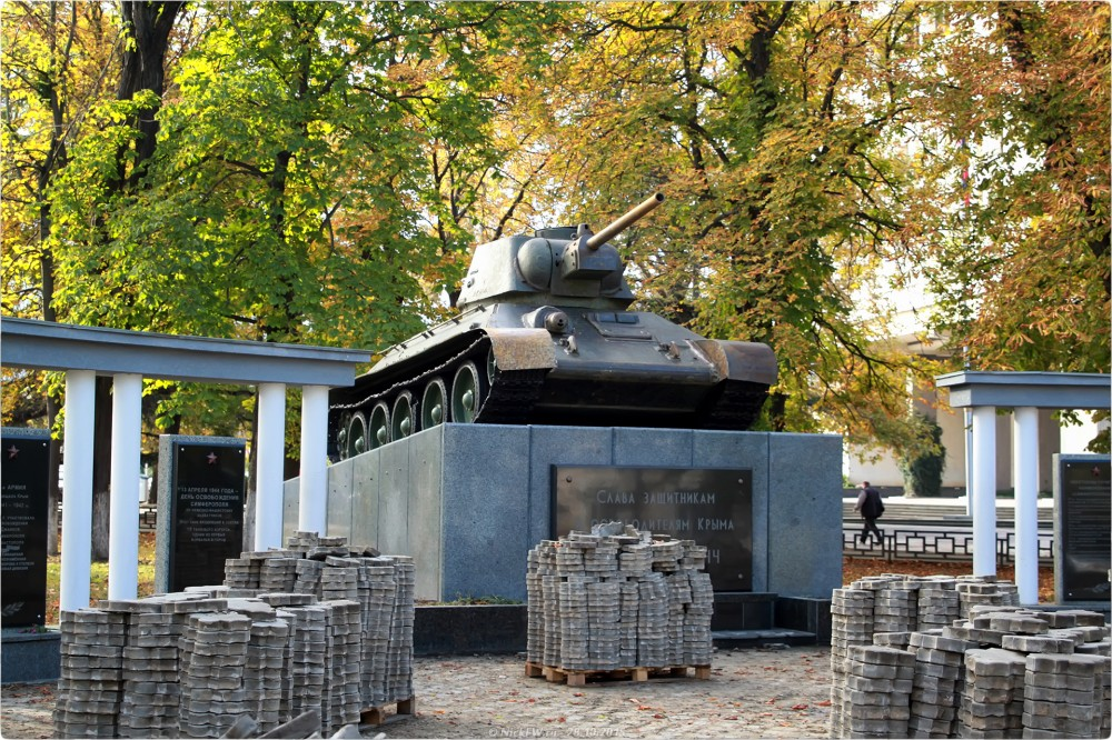 16. Танк От-34 © NickFW.ru - 28.10.2015г.