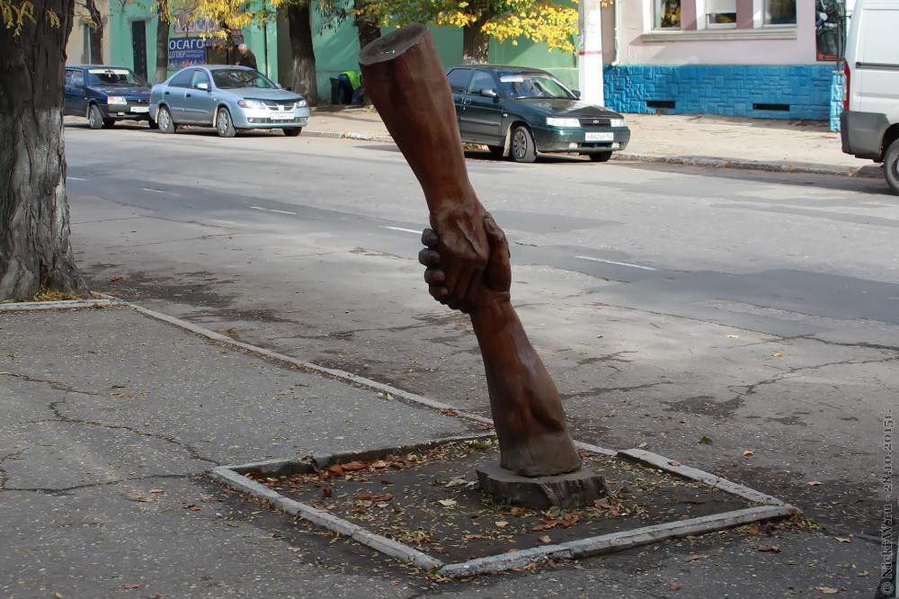 18. Скульптура из дерева © NickFW.ru - 28.10.2015г.