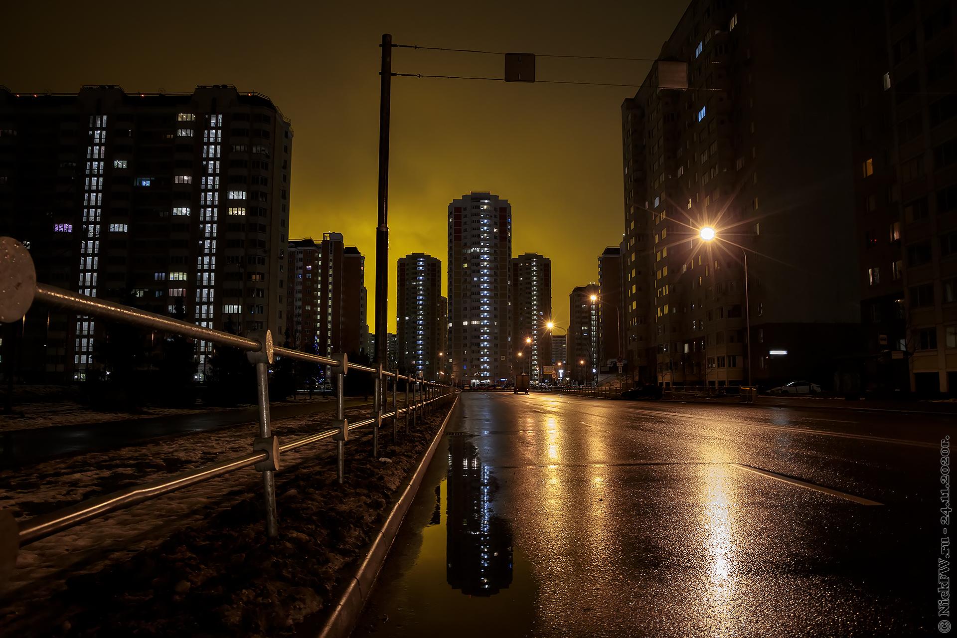 2. Московский - зарево теплиц © NickFW.ru - 24.11.2020г.
