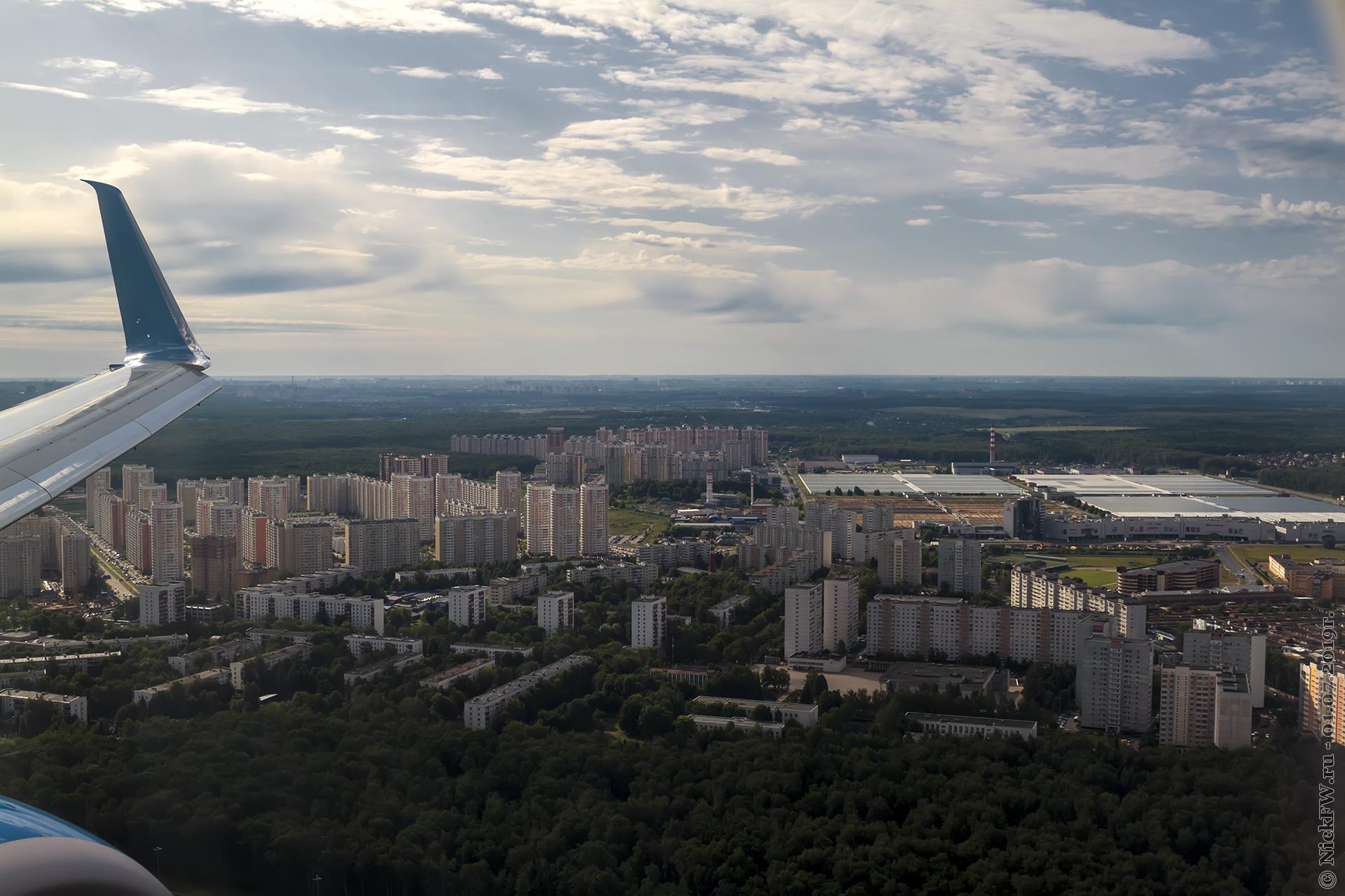 3. Пролетая над Московским... © NickFW.ru - 01.07.2019г.