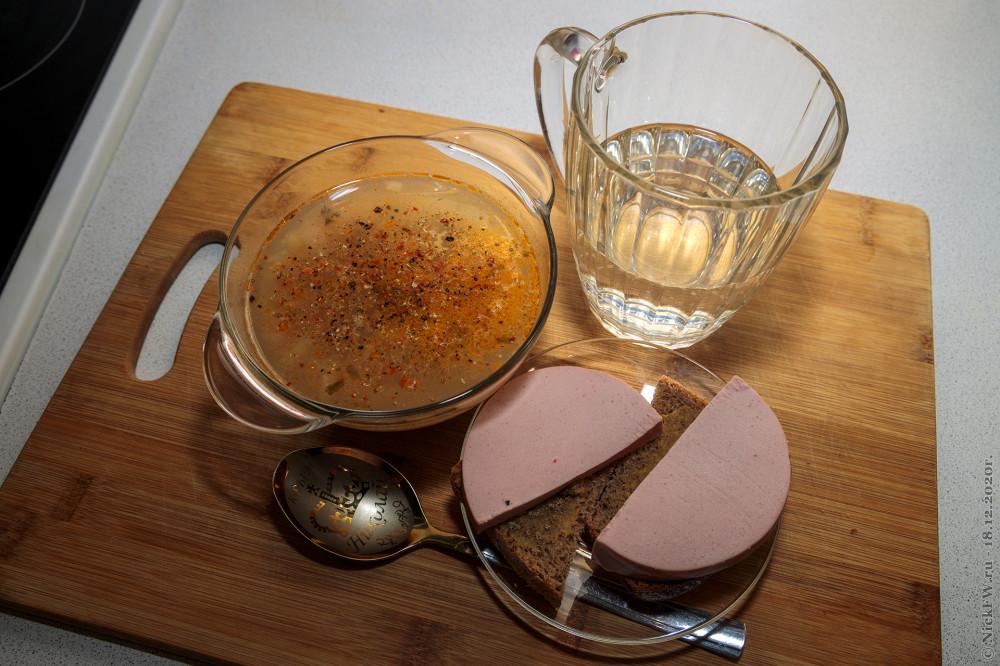 Мой сегодняшний завтрак © NickFW.ru - 18.12.2020г.