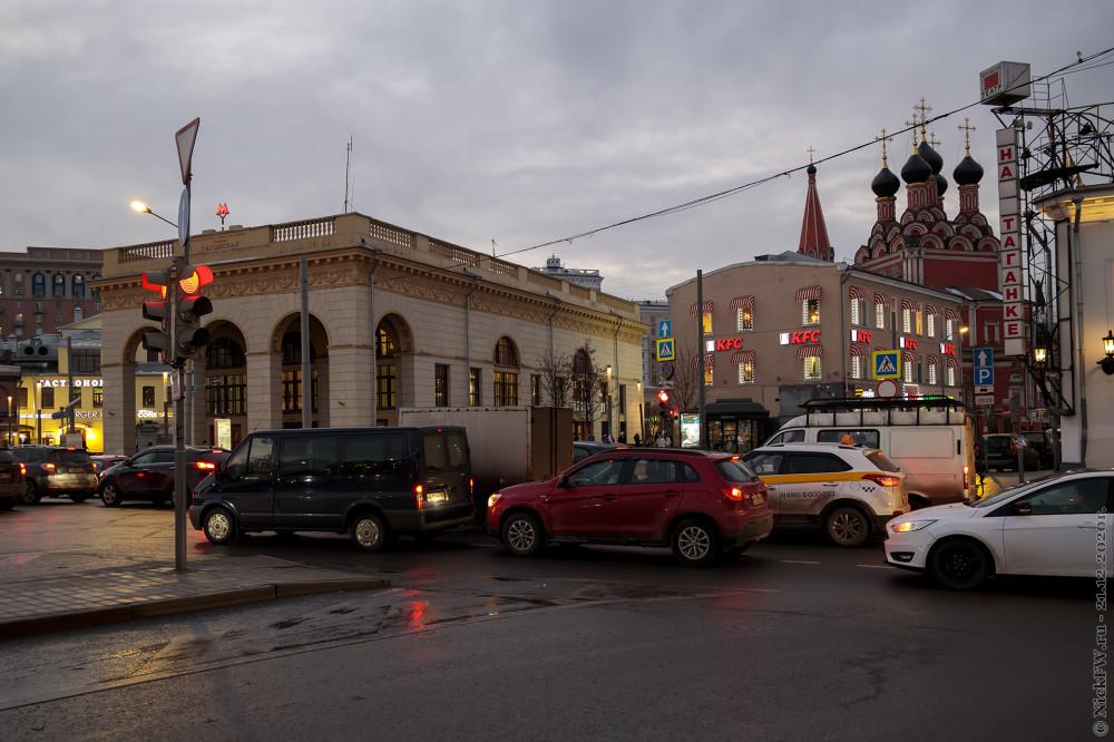 1. Станция Таганская © NickFW.ru - 21.12.2020г.