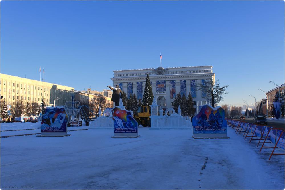 1. Новогодняя архитектура © NickFW.ru - 16.12.2009г.