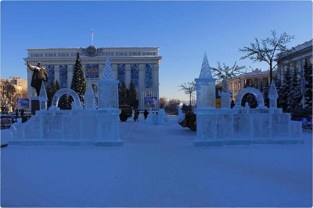 3. Новогодняя архитектура © NickFW.ru - 16.12.2009г.