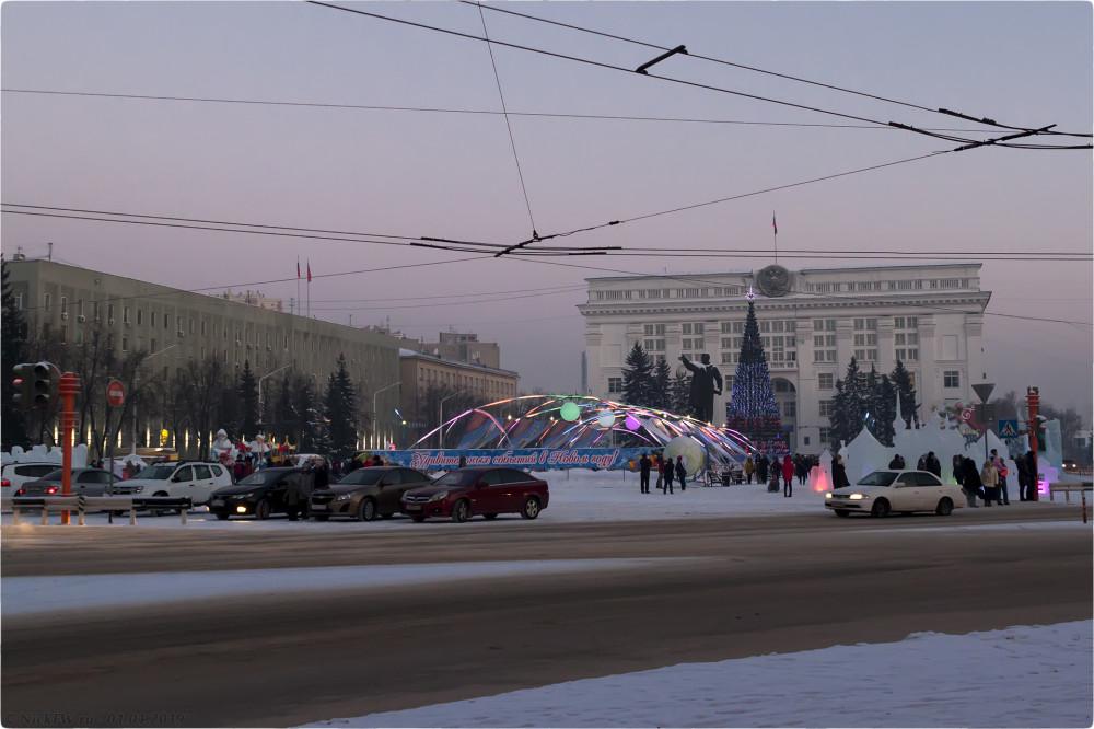 1. Площадь Советов © NickFW.ru - 01.01.2019г.