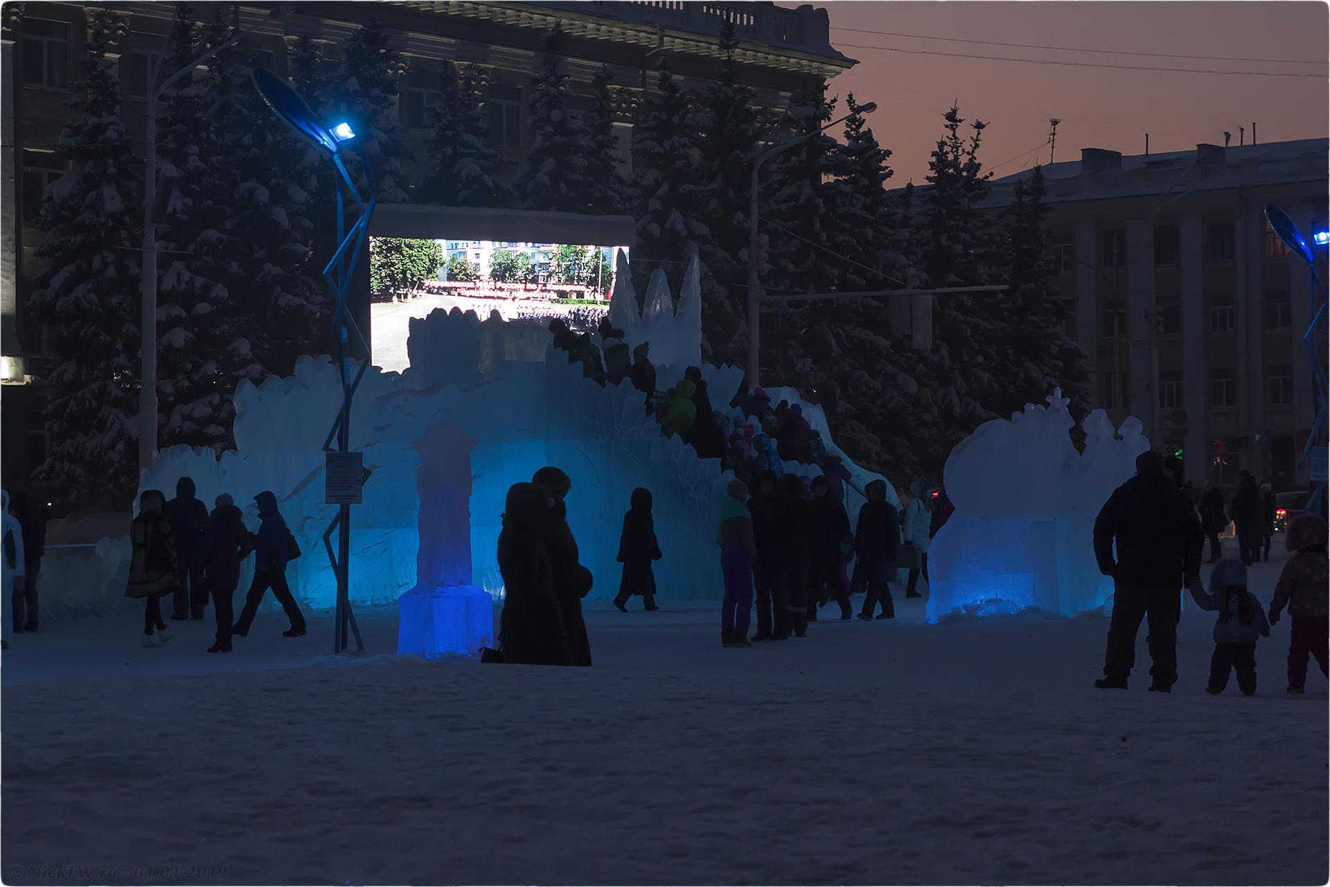 7. Новогодняя архитектура © NickFW.ru - 01.01.2019г.