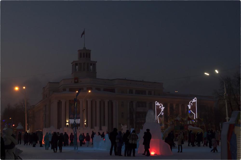 9. Новогодняя архитектура © NickFW.ru - 01.01.2019г.