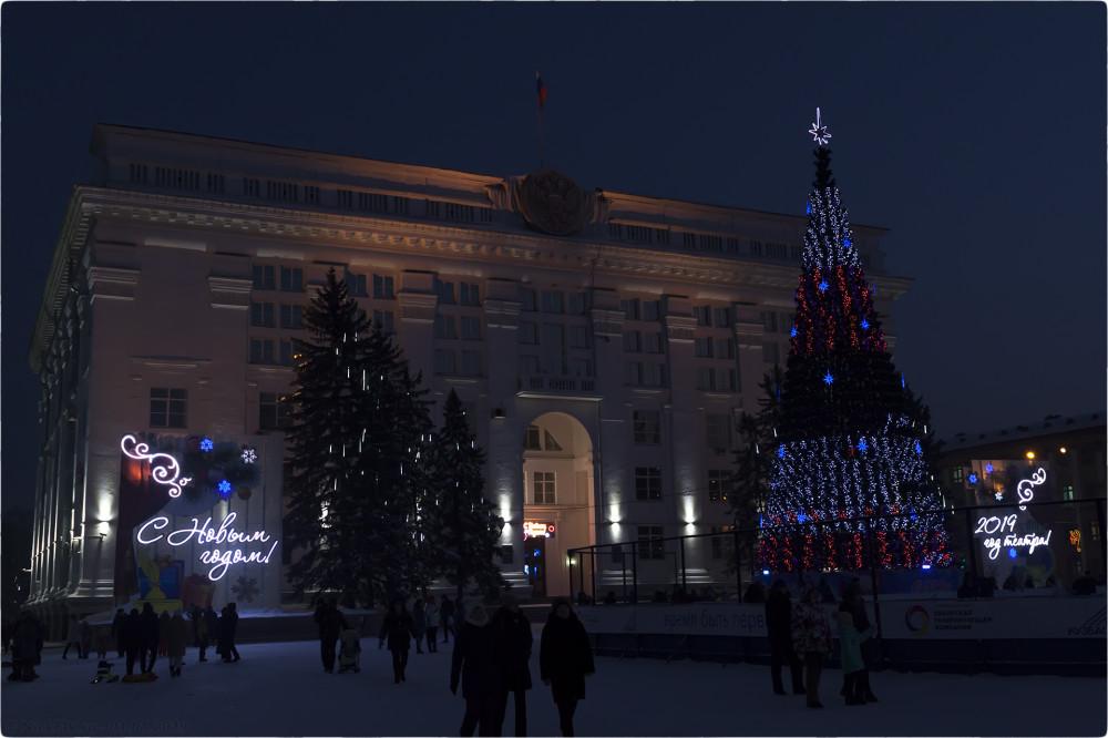 10. Новогодняя архитектура © NickFW.ru - 01.01.2019г.