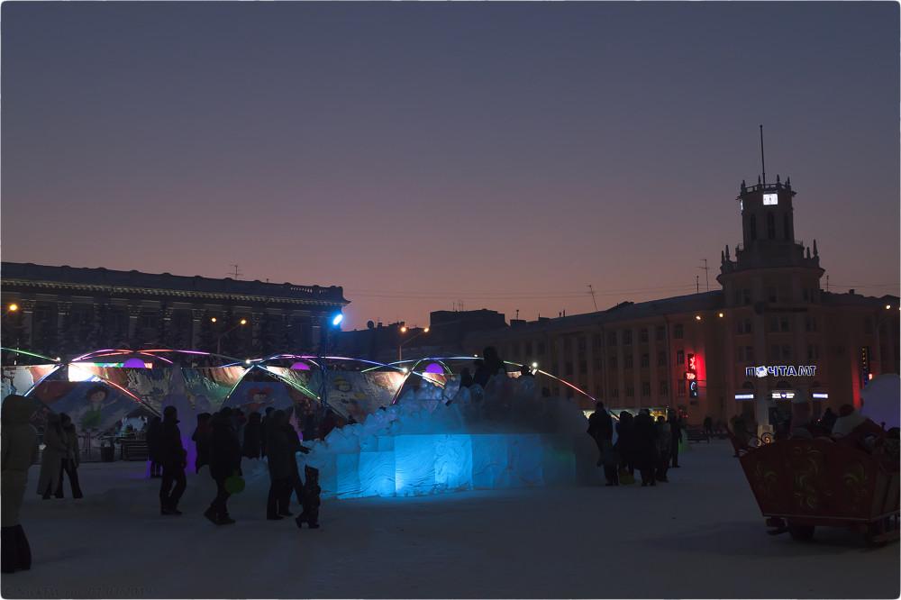 11. Новогодняя архитектура © NickFW.ru - 01.01.2019г.