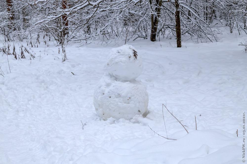 5. Верхняя часть снеговика © NickFW.ru - 03.01.2021г.