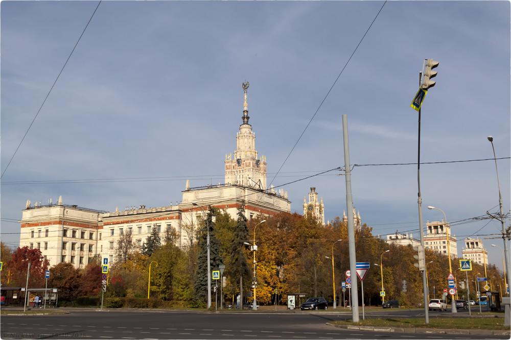 2. Здание МГУ [© NickFW.ru - 14.10.2018г.]
