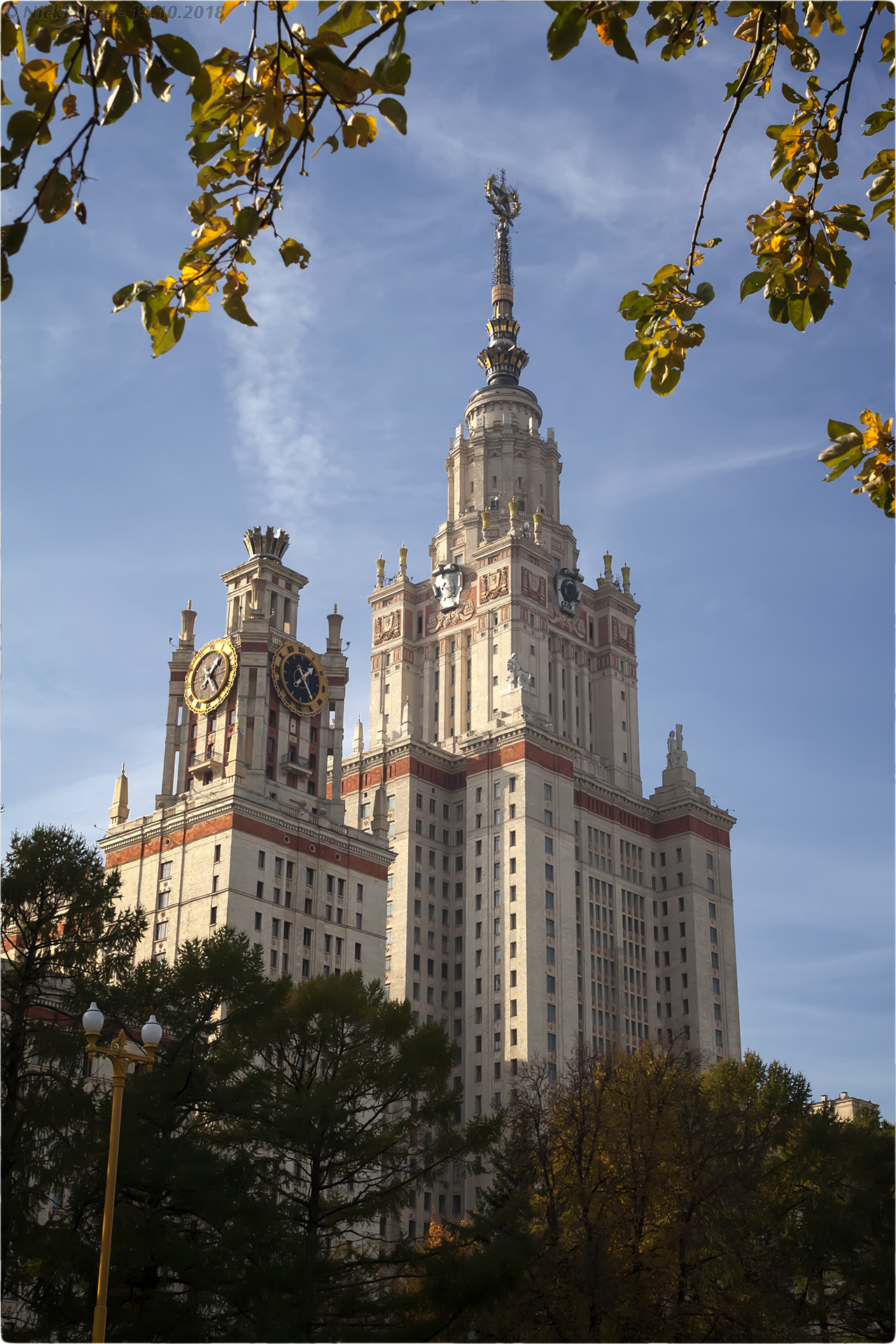 8. Здание МГУ [© NickFW.ru - 14.10.2018г.]