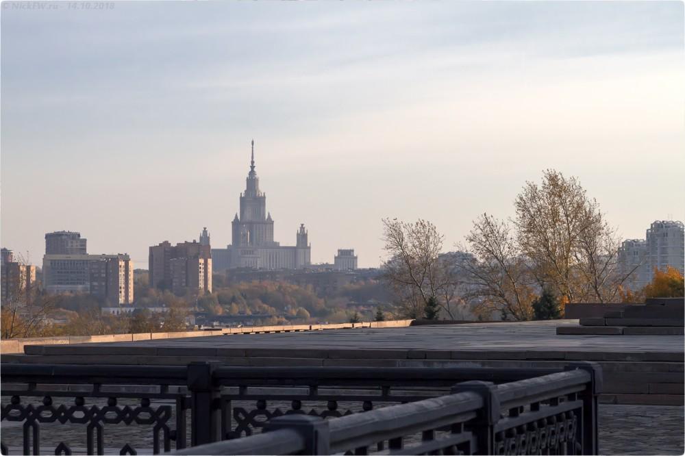 13. Здание МГУ [© NickFW.ru - 14.10.2018г.]