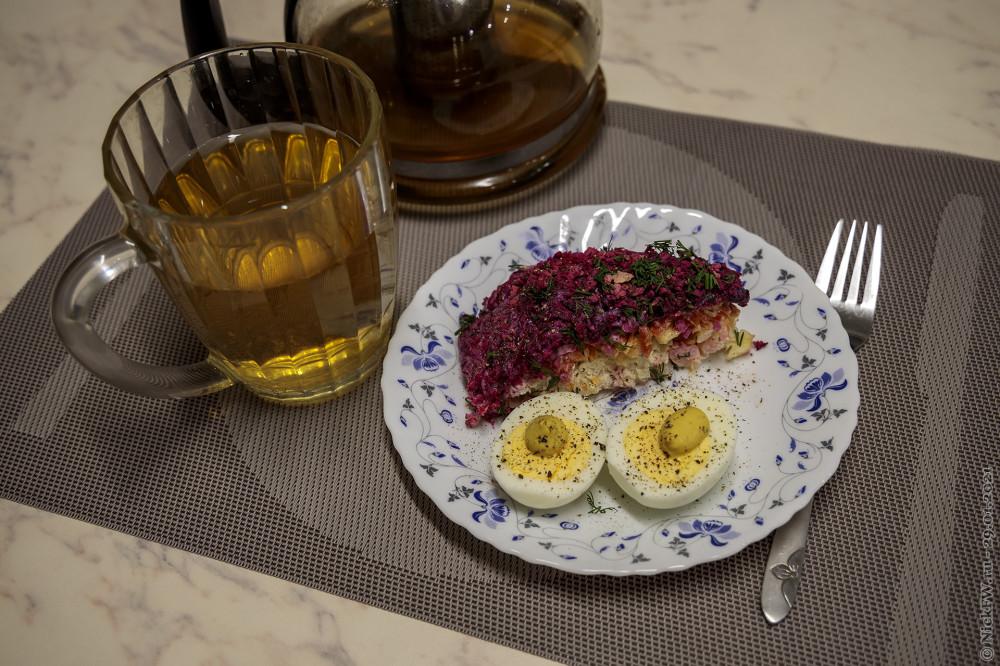 Мой пятничный завтрак — натюрморт © NickFW.ru — 29.01.2021г.