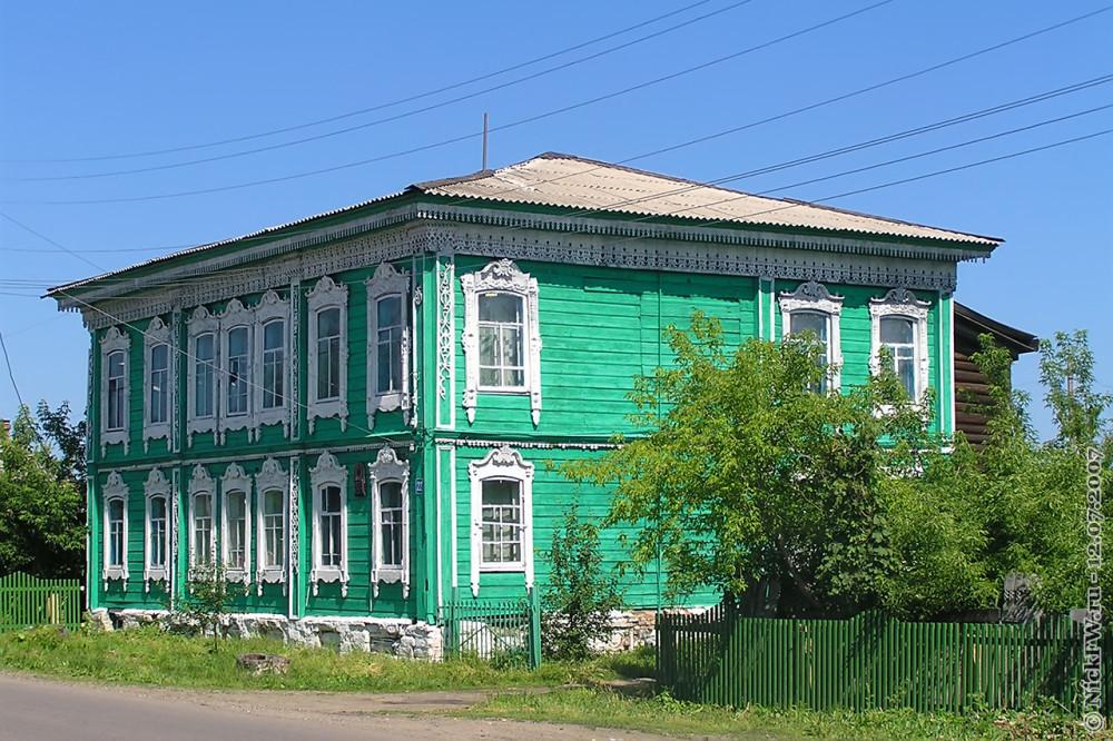 4. Мариинск — Жилой 2х этажный дом © NickFW.ru — 12.07.2007г.
