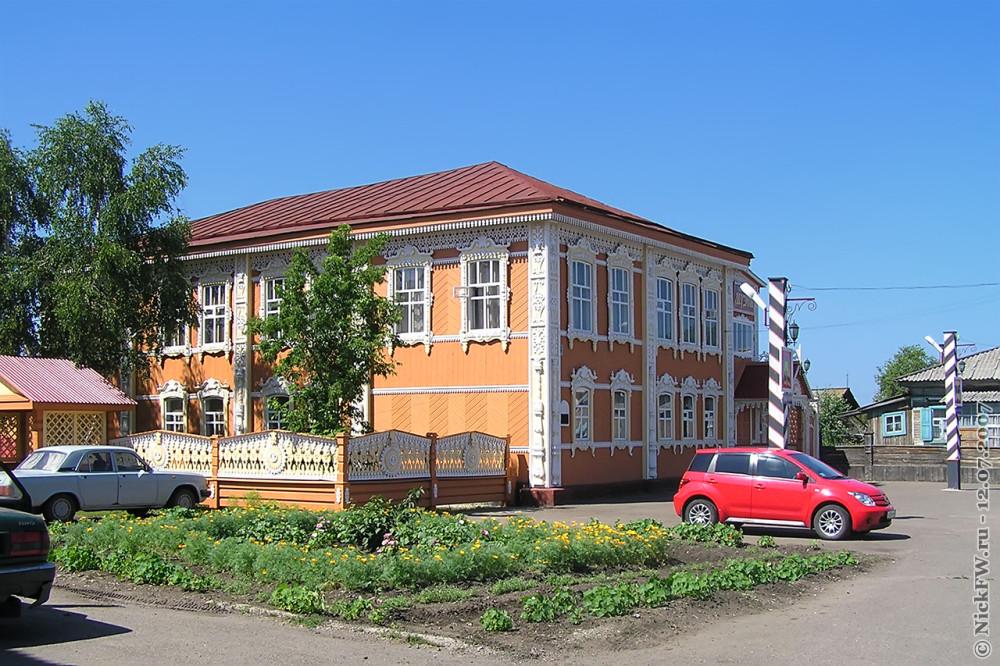 5. Мариинск — Краеведческий музей © NickFW.ru — 12.07.2007г.
