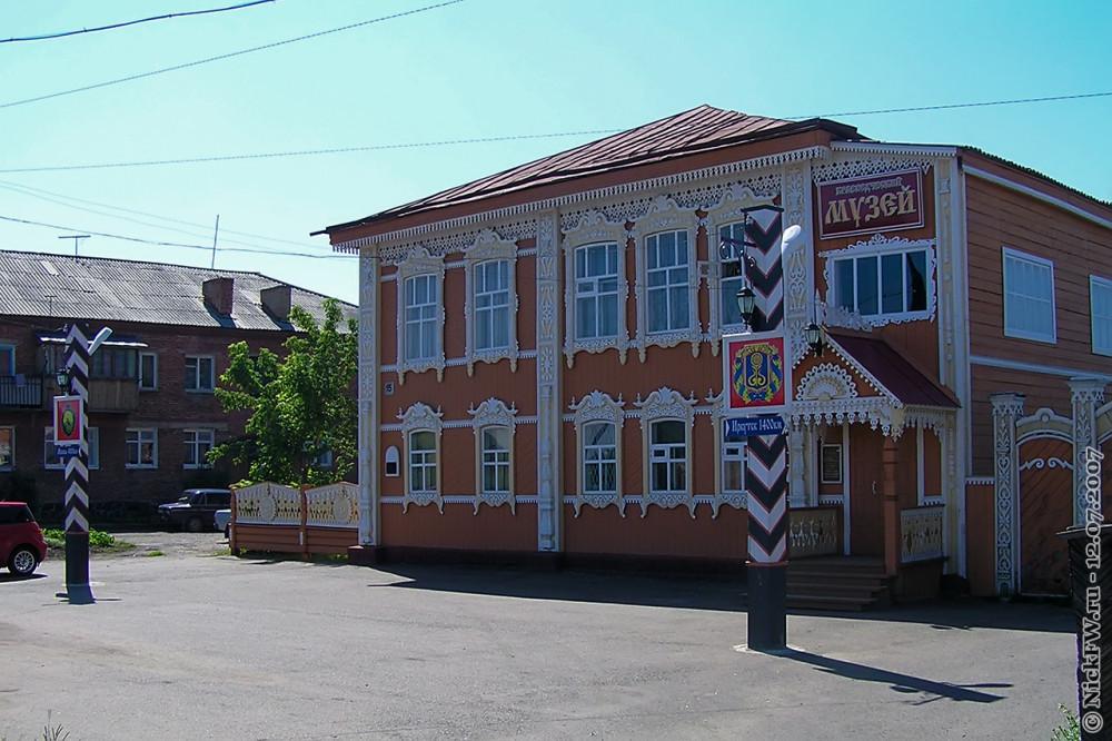 1. Мариинск — Краеведческий музей © NickFW.ru — 12.07.2007г.