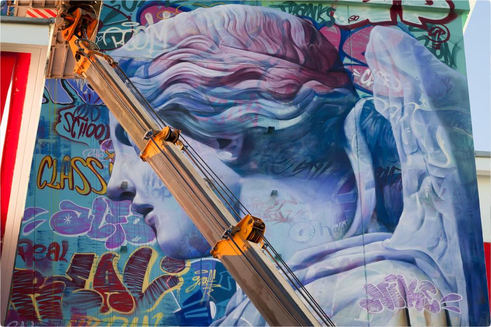 5. Граффити на Атриуме — детали © NickFW.ru - 12.10.2018г.