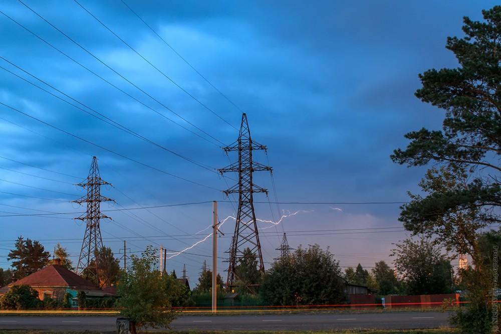 1, Гроза над улицей Линейная © NickFW.ru — 24.07.2014г.