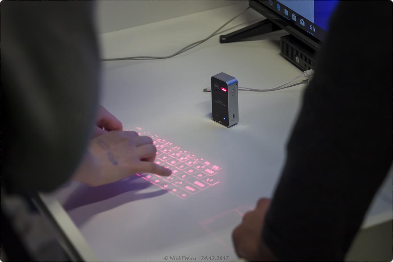 проекционная клавиатура и мышь [© NickFW - 24.12.2017]