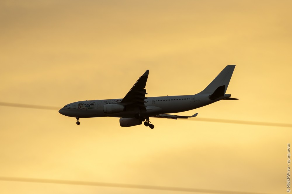 3. Airbus A330-200 — MSN 283 — №EI-FNX — © NickFW.ru — 15.05.2021г.