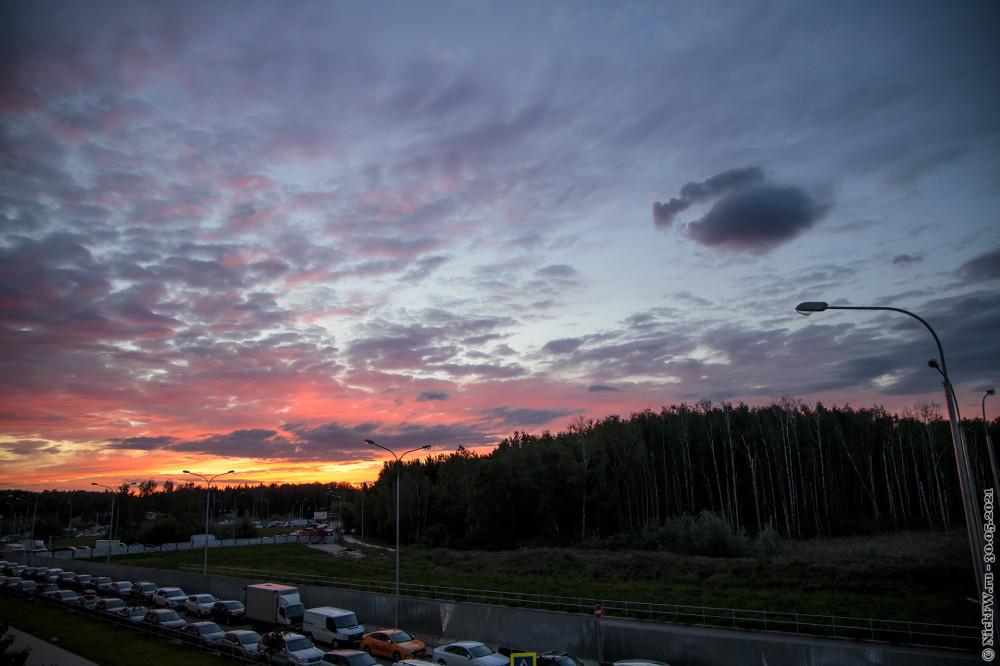 2. Закат в Московском © NickFW.ru — 30.05.2021г.