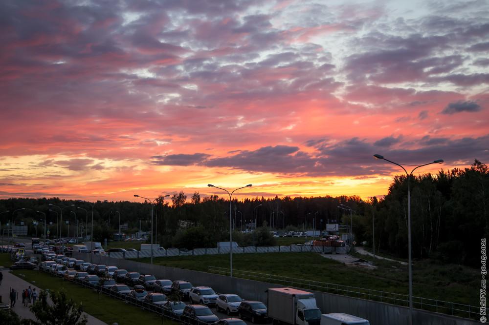 3. Закат в Московском © NickFW.ru — 30.05.2021г.