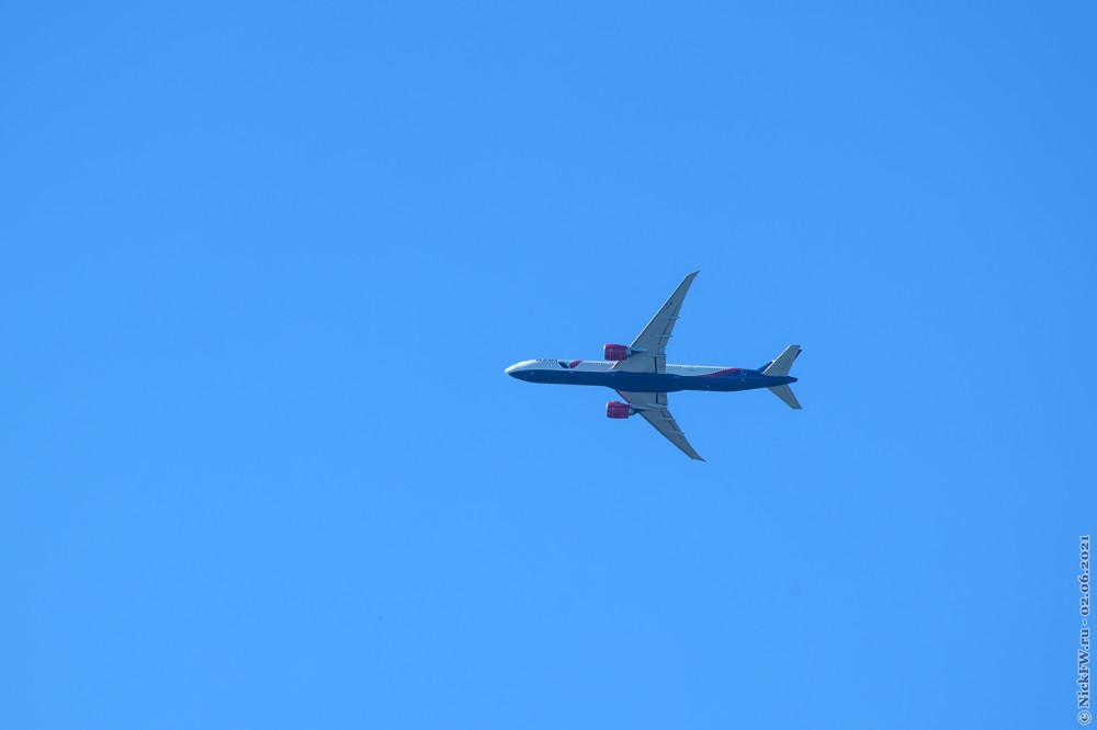 6. Boeing 777-300ER — Бортовой №: VQ-BZD © NickFW.ru — 02.06.2021г.